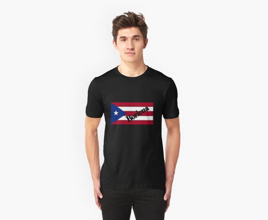 Boricua T-Shirt by Virginia N. Fred