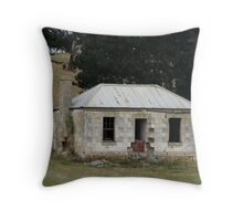 Robinson's Cottage Throw Pillow