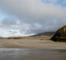 Beach Galway Co Ireland Sticker
