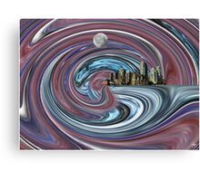 Neap Tide for Planet Earth Canvas Print