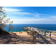 Sleeping Bear Dunes Overlook Photographic Print