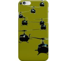 Huey Helicopters iPhone Case/Skin