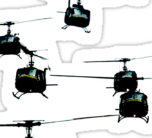 Huey Helicopters Sticker