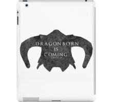 Dragonborn is coming iPad Case/Skin