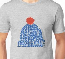 Winter Bobble Hat Unisex T-Shirt
