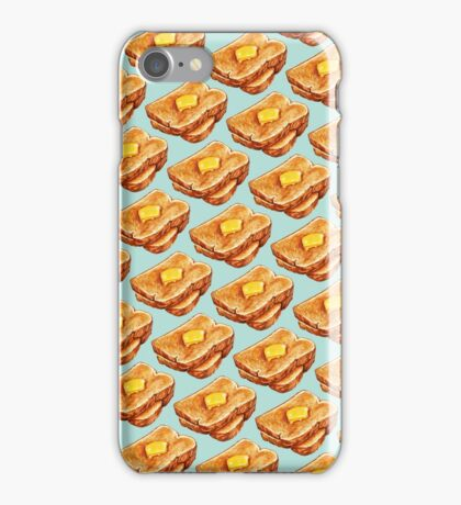 Buttered Toast Pattern iPhone Case/Skin
