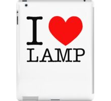 I love lamp iPad Case/Skin