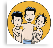 Blink 182 Canvas Print