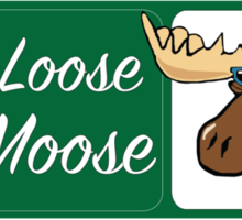 Hang Loose Mr. Moose Sticker
