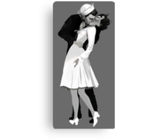 The Kissing Sailor Canvas Print