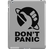 Don't Panic - Hitchhikers Guide iPad Case/Skin
