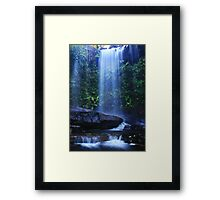 The Blue Veil Framed Print