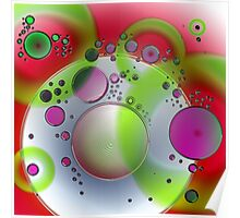 Abstract Orbs Poster