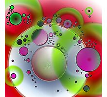 Abstract Orbs Photographic Print