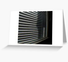 light and lines-TTV-through the viewfinder Greeting Card