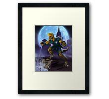 Raptor Cop Framed Print