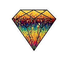 Metallic Diamond Photographic Print