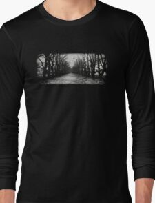The Shortcut - black Long Sleeve T-Shirt