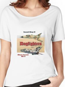 Dogfighters: Mirage vs MiG-21 Women's Relaxed Fit T-Shirt