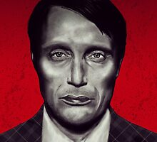 Mads Mikkelsen Hannibal by Jess Holliday