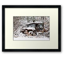 My Dad's Jeep 2 Framed Print