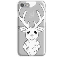 Greyscale Stag  iPhone Case/Skin