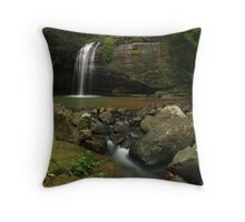 Serenity Falls, Buderim Forest Park, Queensland. Throw Pillow
