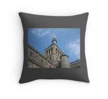 Mont Saint-Michel Throw Pillow