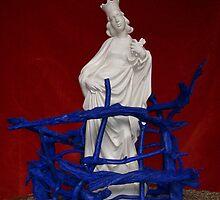 Modern religious art statue by atelierwilfried
