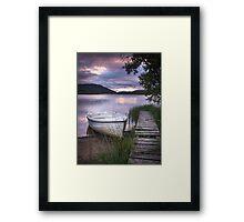 Loch Alvie Framed Print