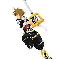 Sora (Kingdom Hearts) by akameruza