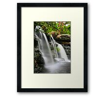 Liquid Glass Framed Print