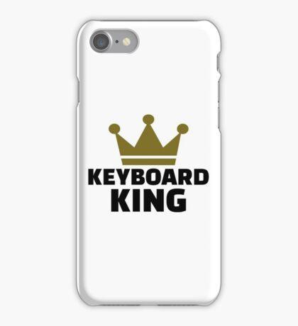 Keyboard King iPhone Case/Skin