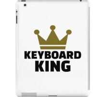 Keyboard King iPad Case/Skin