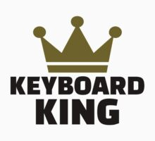 Keyboard King Kids Tee