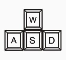 WASD Gaming keys by Designzz