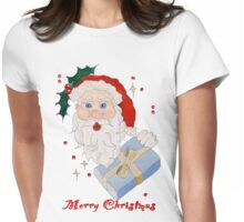 Merry Christmas Everyone! Womens Fitted T-Shirt
