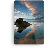 Pools Edge Metal Print