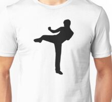 Martial arts Karate kick Unisex T-Shirt