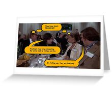 CONVERSATION ON SENSITIVE SUBJECT(C2103) Greeting Card