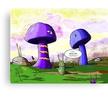 Slugbert's World Canvas Print