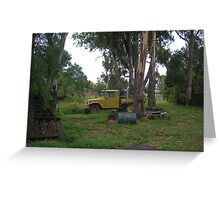 Farm Toyota Resting in the Shade Greeting Card