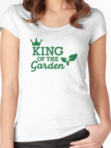 King of the Garden Women's Fitted Scoop T-Shirt