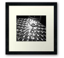 Empty Glass..... Framed Print