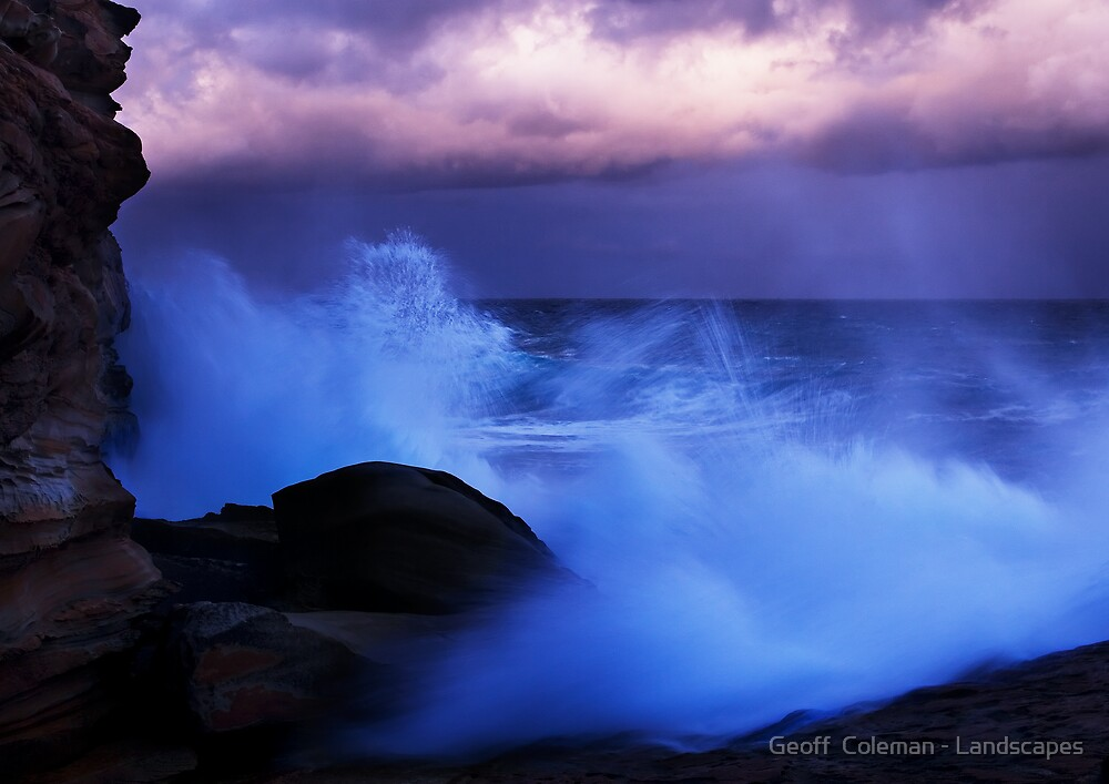 The Poetry of Chaos by Geoff  Coleman - Landscapes