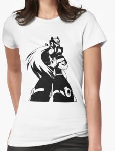 Zero from Megaman X  Womens Fitted T-Shirt