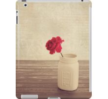 Red Carnation iPad Case/Skin