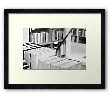 Book Store Framed Print