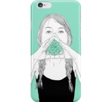 shout out loud iPhone Case/Skin