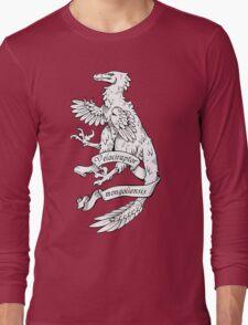 Heraldic Velociraptor Long Sleeve T-Shirt